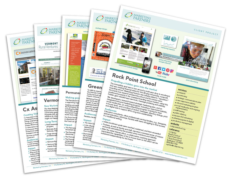 MPI success stories project sheets
